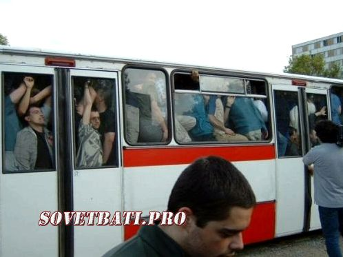Как в автобусе проехать зайцем
