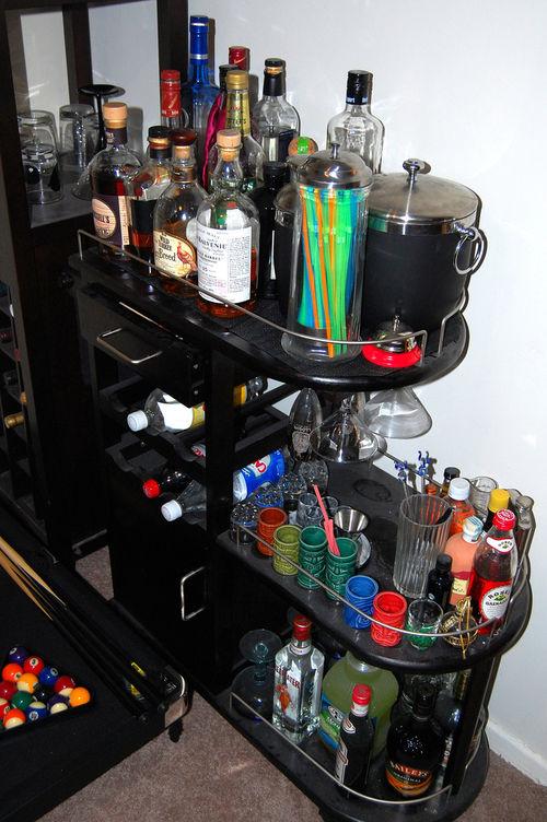 Чем наполнить домашний мини-бар