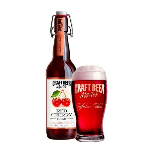 Крафтовое пиво «Red Cherry» от пивоварни Лобанова Отзыв